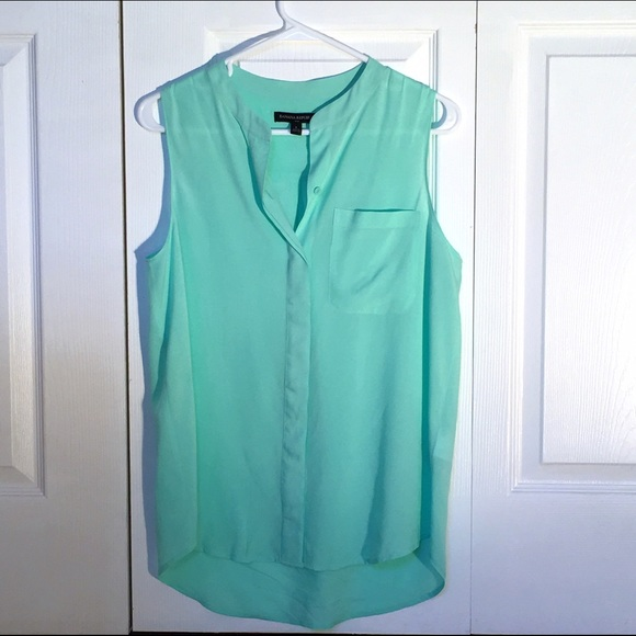 Banana Republic Tops - **FINAL PRICE** Pastel  Sleeveless Button Down