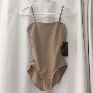 NWT nude bodysuit