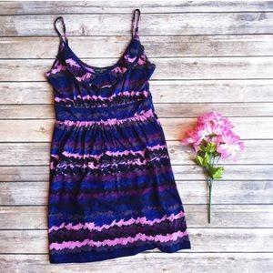 BANANA REPUBLIC Ruffle dress/tunic XS/S