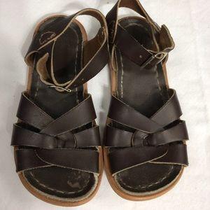 Salt Water Sandals by Hoy Other - Salt Water sandals in dark brown