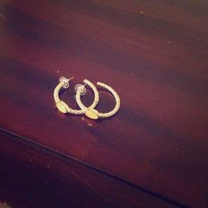 Jewelry - gold hoop earring