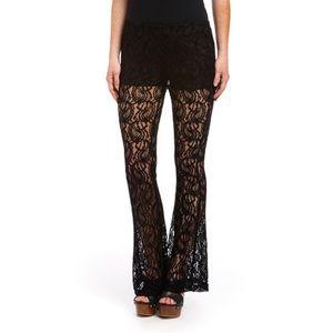 Joe & Elle Pants - Sheer Lace Pants