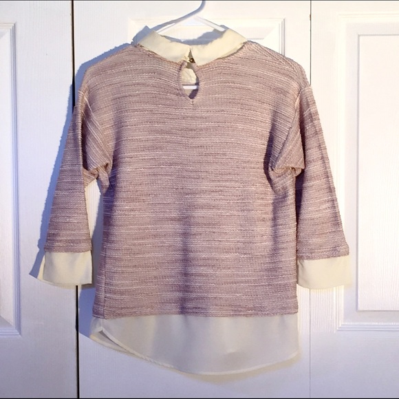 Ann Taylor Sweaters - **FINAL PRICE** Built-in Button down sweater