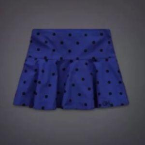 Gilly Hicks Dresses & Skirts - New Gilly Hicks Polka Dot Blue Mini Skirt 00