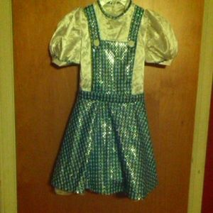 24th & Ocean Other - Dorothy Wizard of Oz Deluxe Costume Dress