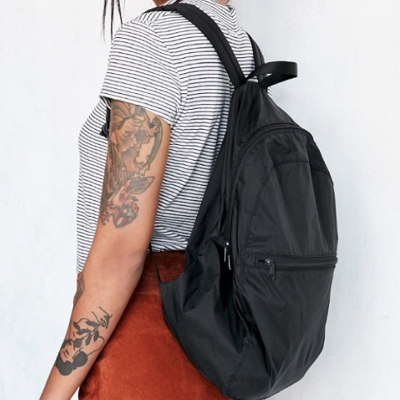 e69f88a64a ❤️NWT Urban Outfitters Black Nylon Backpack