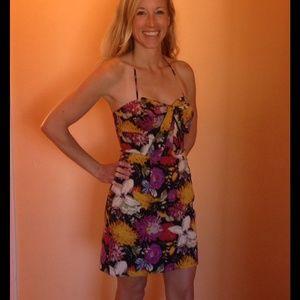 Anthro Print Dress