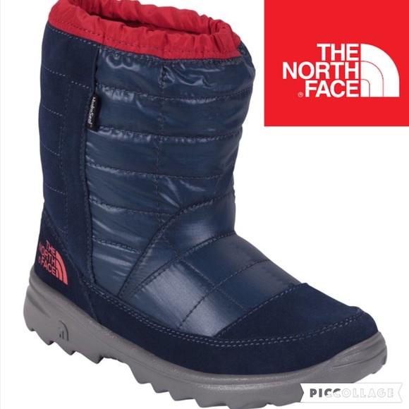924cdb44b ❄️KIDS!! Northface Winter Camp WP Boot/Nvy/sz 5