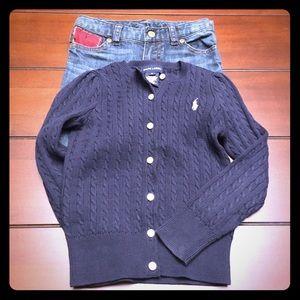 Ralph Lauren Other - Ralph Lauren Cardigan Sweater, Size 5