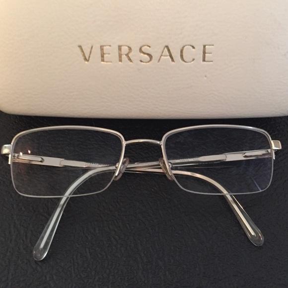 f8f31896b8128 Versace Eye Glass Frames MOD. 1066 1000 50 18 135.  M 57fbd669b4188e1185035b53