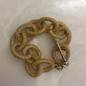 Banana Republic gold link bracelet