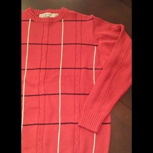 MENS RED SWEATER BRAND NEW