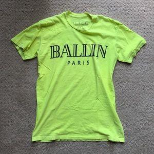 Brian lichtenberg Ballin Tee size XS