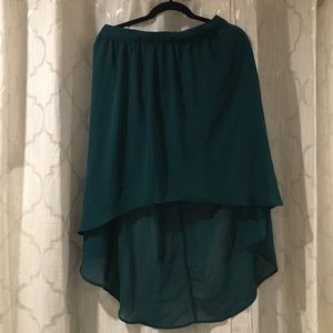 Forever 21 high low skirt L