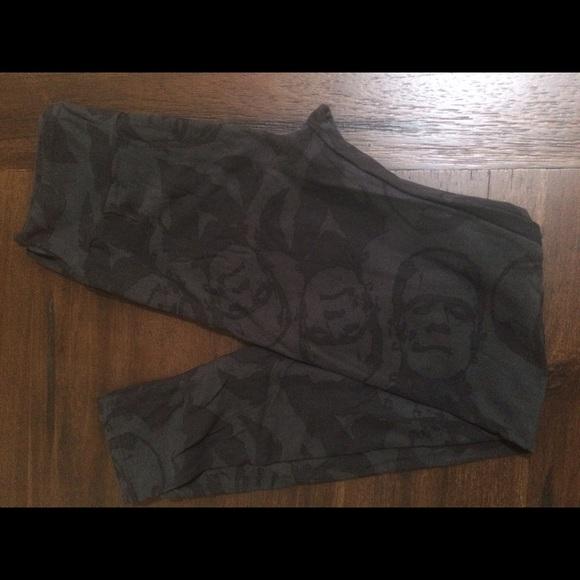 f044250eea8809 LuLaRoe Pants | Black Frankenstein Os Leggings Halloween | Poshmark