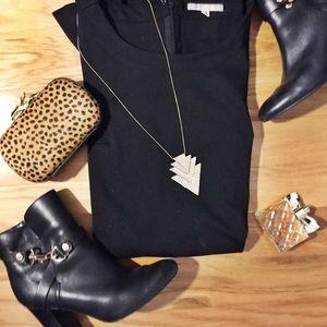 Black Gap shift dress
