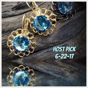 Jewelry - Handcrafted earrings with Swarovski crystal #13