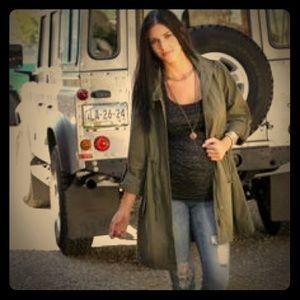 Wendy Bellissimo Jackets & Blazers - Military Maternity Jacket