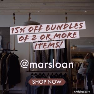 15% off bundles of two or more items!