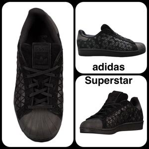 Adidas Shoes - LAST CHANCE NWT! Adidas Superstar Black With box!