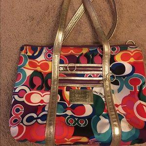 Used Coach Poppy Large bag