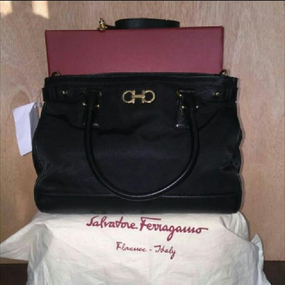 Salvatore Ferragamo Batik Handbag 8d033519562ad