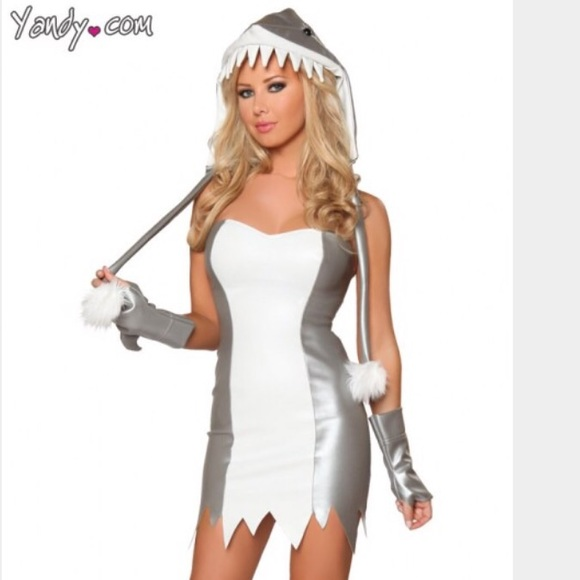 Sexy Shark Halloween Costume  sc 1 st  Poshmark & yandy.com Other | Sexy Shark Halloween Costume | Poshmark