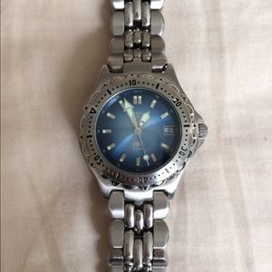 Fossil Other - Fossil Women's Blue Watch AM3581.