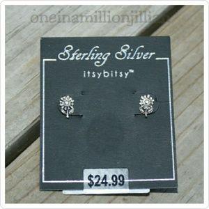 Jewelry - Sterling Silver Flower Earrings