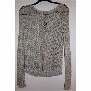 Mesh Sweater from The Limited