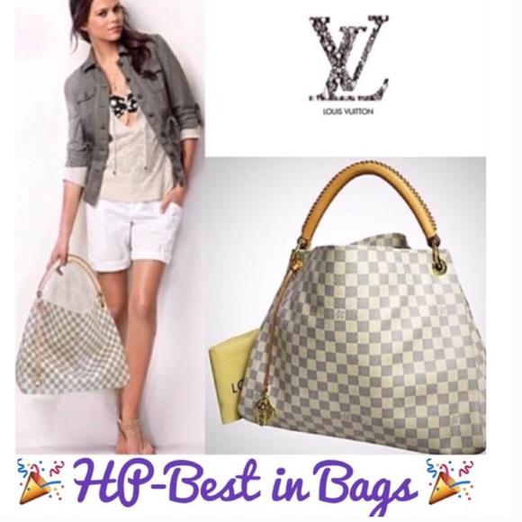 Louis Vuitton Bags Sold To Katielv Damier Azur Artsy Mm Poshmark