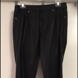 Zara Skinny Faux Leather-like Pants