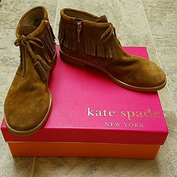 83e9d228bd3a Kate Spade Bellville Embroidered Ankle Boots NWT My Posh