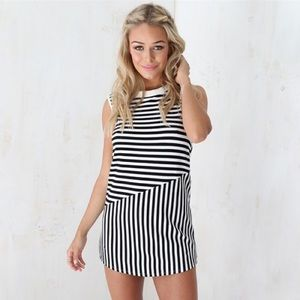 SABO SKIRT Always stripes dress