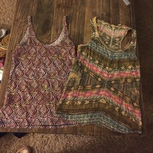 Urban Outfitters Tops - Urban outfitter tank top set