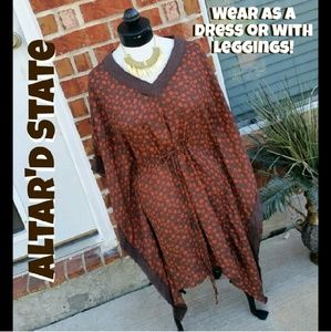 SALE Altar'd State Paisley Caftan Dress