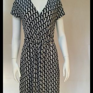 Chic Brooks Brothers Faux Wrap Dress