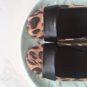 Christian Siriano Shoes - Christian Siriano Bandit Flat in Animal Print