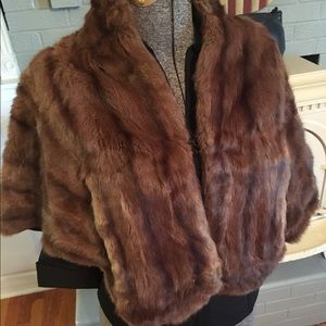 Greenblatts Brazy Brothers Jackets & Blazers - Vintage Fur Jacket