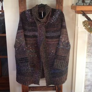 Free People Sweaters - Free People Sweater Coat NWOT