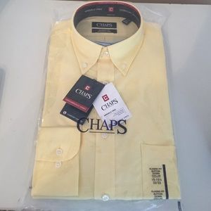 Chaps Other - NEW Chaps Men's Classic Fit Long Sleeve 15-15 1/2
