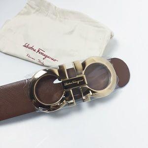 Ferragamo 'Gancini Icona, 4.5cm 100 Belt NWT$ $495