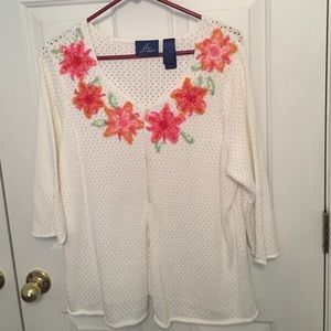 jh Sweaters - White cardigan