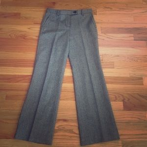 J. Crew herringbone wool pants