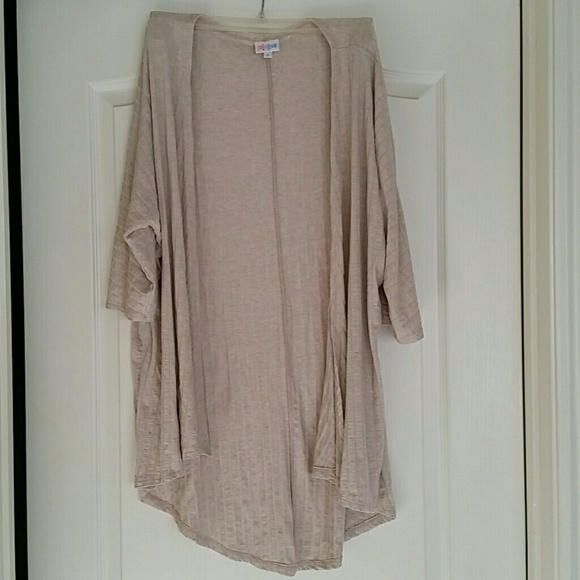 21% off LuLaRoe Sweaters - Tan LuLaRoe Lindsay kimono cardigan ...
