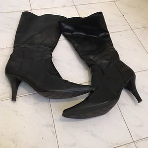 predictions Shoes - Faux leather boots