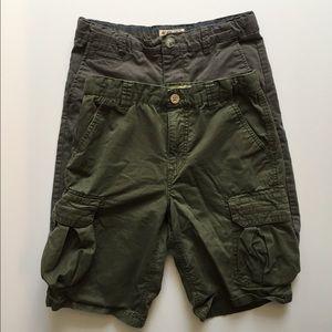 Boy Lucky Brand Shorts Bundle sz 12