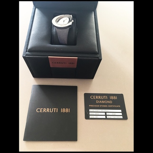 3428790fef Cerruti Accessories | 1881 Diamond Watch | Poshmark