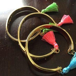 3 Lilly Pulitzer bracelets-cute!