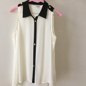 Guess sheer top size S